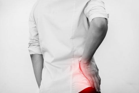 Photo illustration of Hip pain